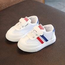 Children Kids Shoes Boys breathable Sport summer Soft Bottom