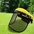 CK Tech Face Protective Mesh Chainsaw Safety Helmet Logging Brushcutter Forestry Visor Protection New Arrival Safety Masks3021