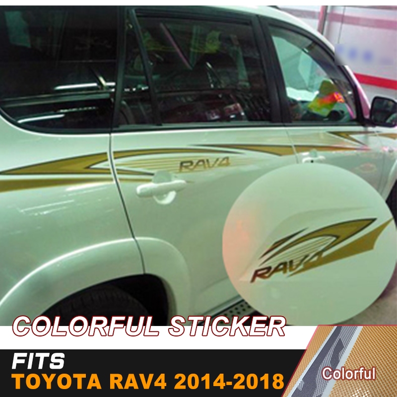 In Able Side Skirt Waist Line Sticker For Hyundai Avante Verna Solaris The Whole Body Decorative Ba049 Fashionable Style;