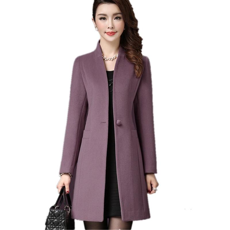 Popular Green Wool Coat Woman-Buy Cheap Green Wool Coat Woman lots ...