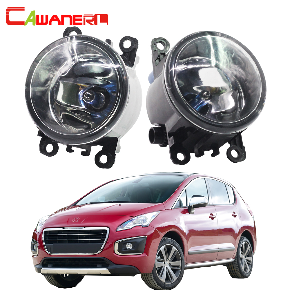 Cawanerl For Peugeot 3008 MPV 2009-2013 H11 100W Car Light Accessories Halogen Fog Light Daytime Running Lamp DRL 12V 2 Pieces cawanerl 2 x car led fog light drl daytime running lamp accessories for nissan note e11 mpv 2006