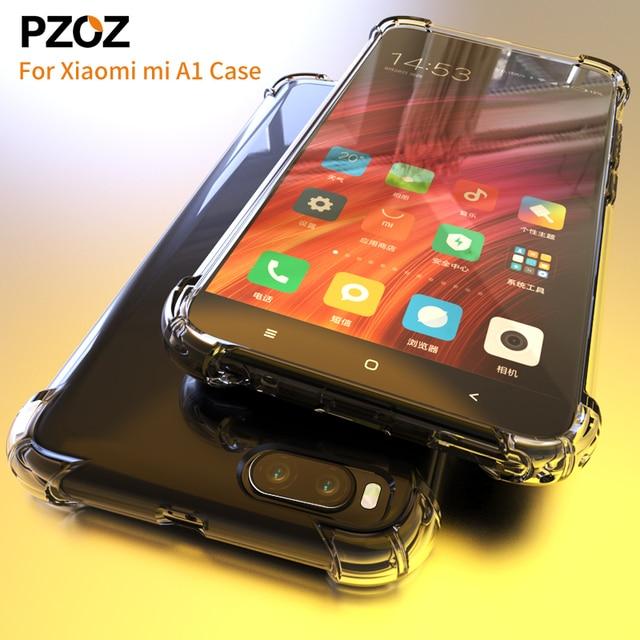 big sale cf50c 01161 US $1.99 50% OFF|PZOZ For xiaomi mi a1 case silicone luxury tpu soft xiaomi  mi a2 lite Cover back shockproof For xaomi xiomi xioami xiao armor-in ...