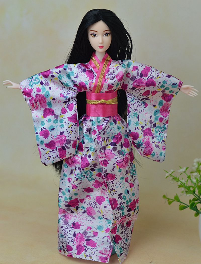 Fashion Doll Clothes Outfit Traditional Japanese Kimono