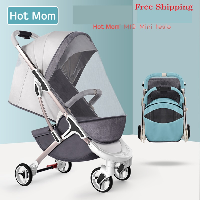 Free Shipping New Baby Stroller Hotmom Lightweight Carriage Portable Folding Travel Pram