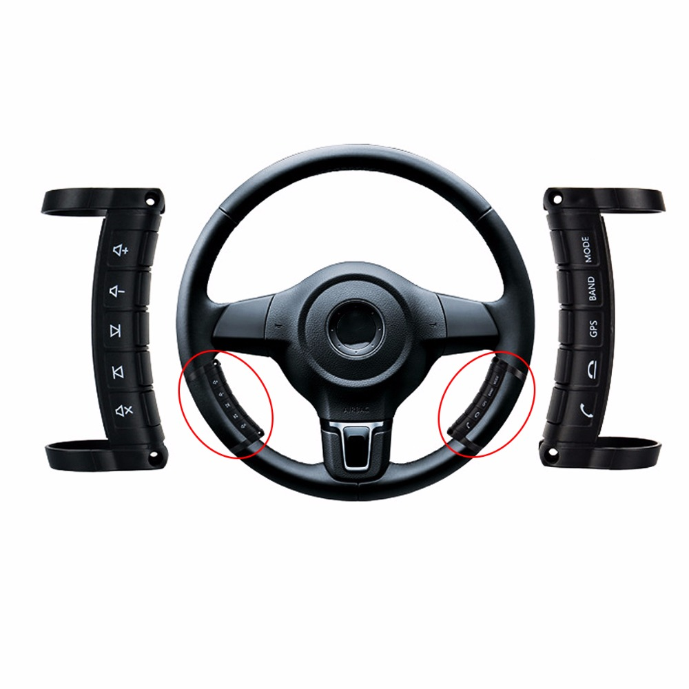 Remote Control Car Replacement Parts : Universal wireless steering wheel button remote control