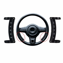 Universal Wireless Steering Wheel Button Remote Control Replacement For Stereo DVD GPS Auto Car Parts