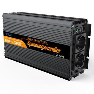 Image 1 - Onda sinusoidale pura DC 24 V a AC 220 V 1500 w di Picco 3000 w telecomando inverter di potenza di alta convertitore di qualità