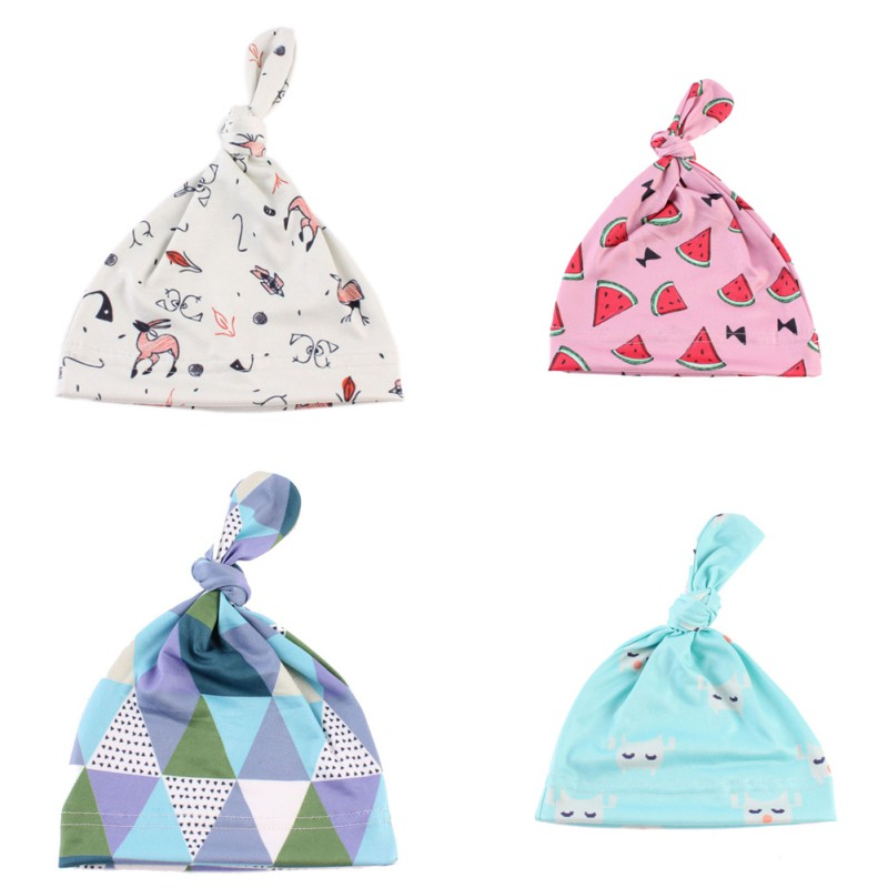 China Toddler Girl Boy Caps Baby Infant Soft Knit Cotton Hat Winter Warm Beanie Cap 0-6 Months
