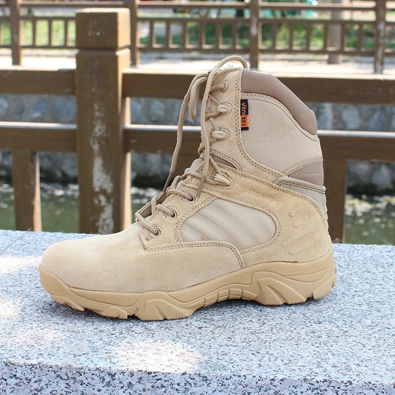 Muškarci Delta visoke vrh vojne borbene čizme Visoka kvaliteta - Muške cipele - Foto 1
