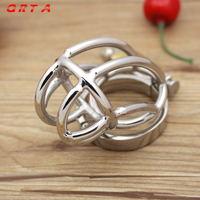 Big Chastity Belt Male Chastity device Stainless Steel cock Cage Sex Toys for men,steel chastity cage,metal cock rings sexo pene