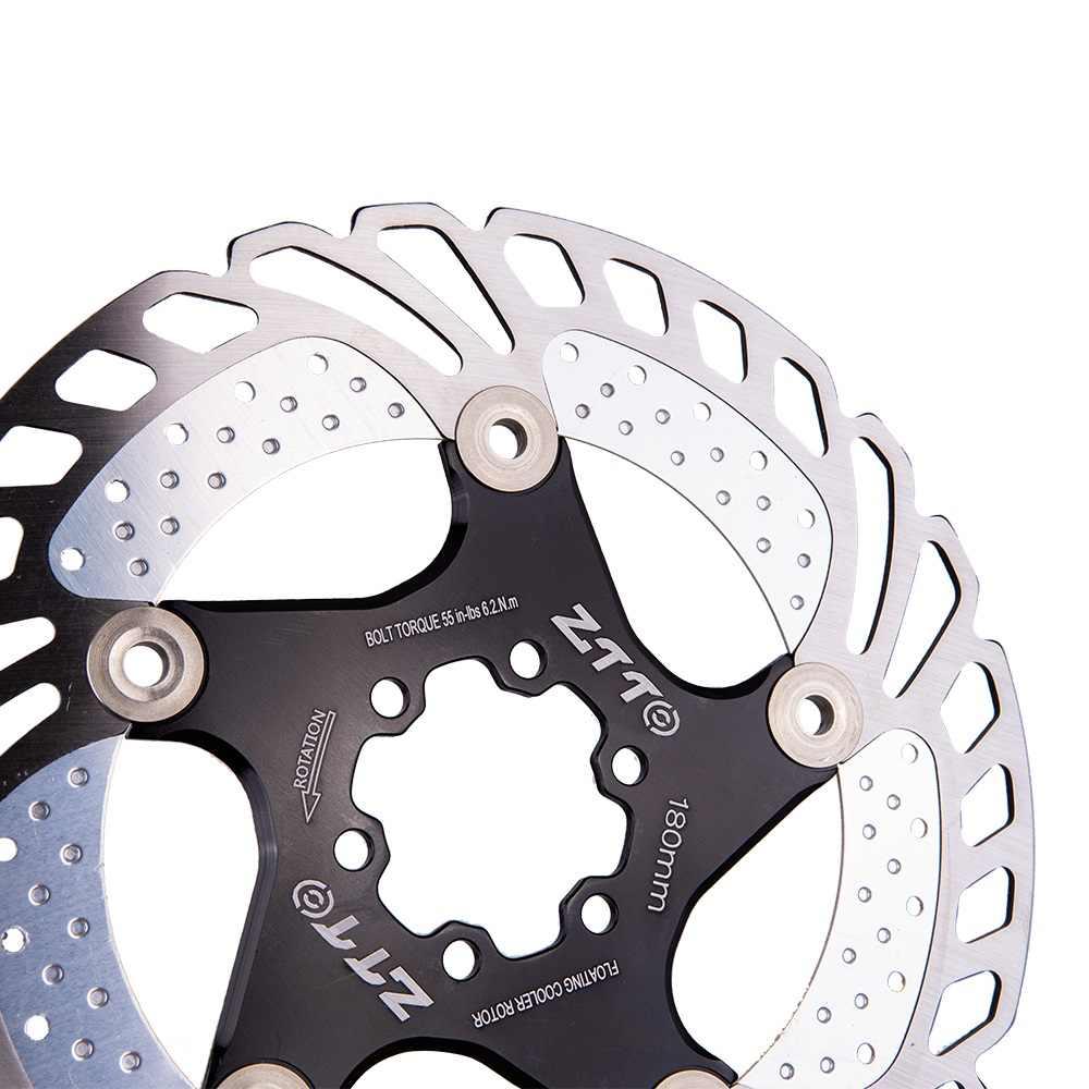 203 mm de Bicicletas Bicicleta del Freno de Disco de Freno de Disco Center Lock Rotores Rotores de Acero Inoxidable con 6 Pernos de Carretera Bicicleta de monta/ña MTB BMX