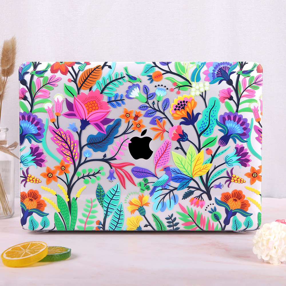 Redlai Colorful Flowers Case for MacBook 30