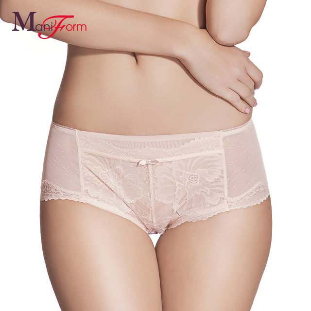 Women underwear floral lace cute seamless  spandex high  tangas sexy panties solid wholesale Comfortable and breathable