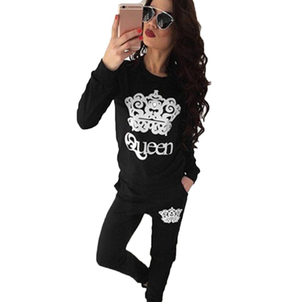 Spring Autumn Sporting Suit Women Tracksuit Casual Two Piece Set Full Sleeve Sweatshirt  ...
