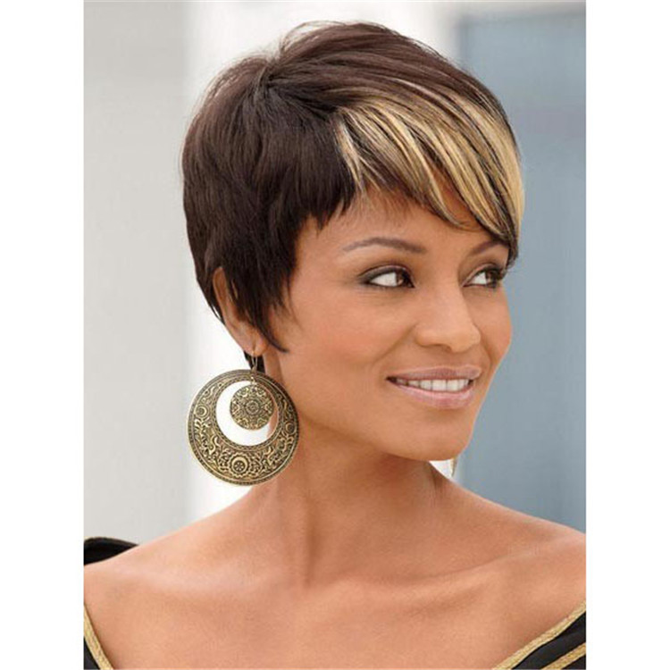 Pictures of short black hair with blonde highlights best black best 25 highlights short hair ideas on color for pmusecretfo Gallery