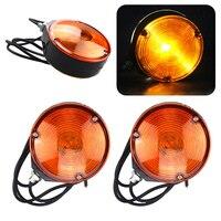 2Pcs Set Car Vechicle LED Hollow Double Side Marker Blinker Lights Flashing Strobe Emergency Light Warning