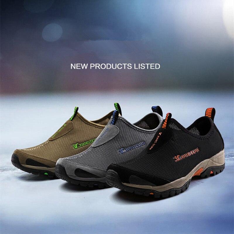 Brand XIANGGUAN 2017new Lovers Super Breathable SANDALS Shoes Men Sneakers Women Outdoor Sport Shoes Original High Density Mesh