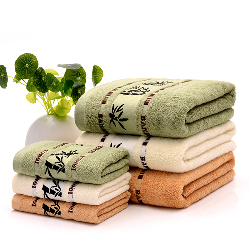 Super Soft Bamboo Towel Home Clearing Face Towels Fiber Bath Towel 70 140cm