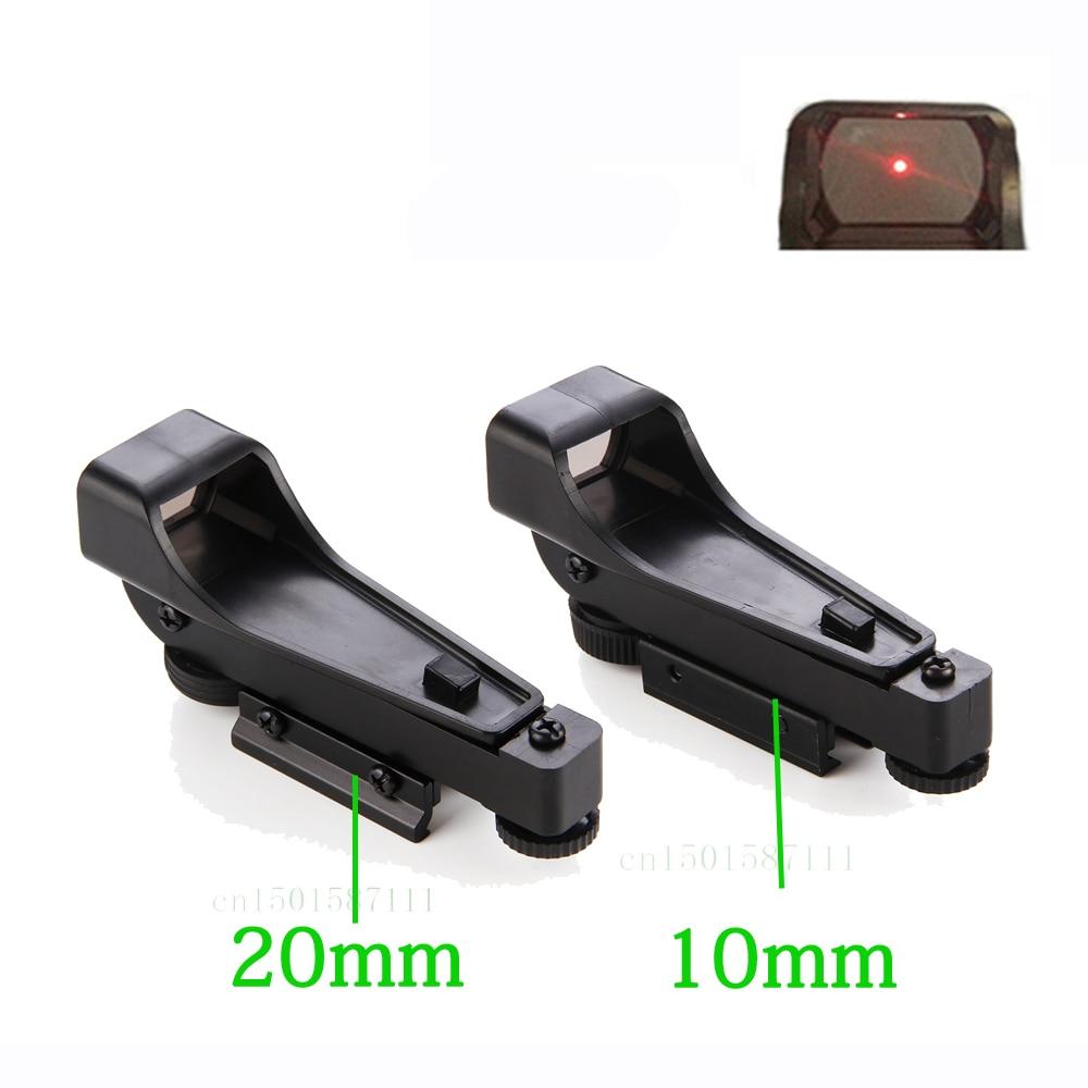 Тактичний рефлекторний приціл Red Dot Sight Scope Широкий вигляд пневматичної зброї 10 або 20 мм Weaver Rail Mounts1x20x30 Крайовий приціл Airsoft Безкоштовна доставка