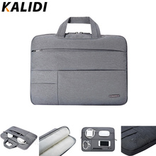 KALIDI Laptop Sleeve Handbag Waterproof Notebook Case Bag For Macbook Air 11 13 Pro 13 15 Retina 12 13.3 14 15.6 inch Laptop Bag