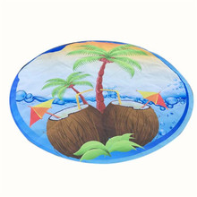 Top Selling! 2017 New Round Hippie Tapestry Beach Throw Roundie Towel Yoga Mat Bohemian Beautiful Gift drop shipping Mar16