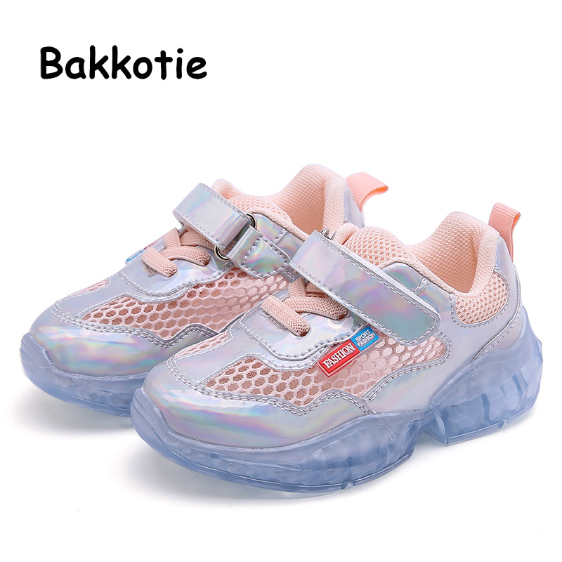 Bakkotie 2019 Spring Baby Boys Fashion Running Shoes Summer Girls New Mesh Breathable Pink Sneakers Kids Soft Casual ShoesBakkotie 2019 Spring Baby Boys Fashion Running Shoes Summer Girls New Mesh Breathable Pink Sneakers Kids Soft Casual Shoes