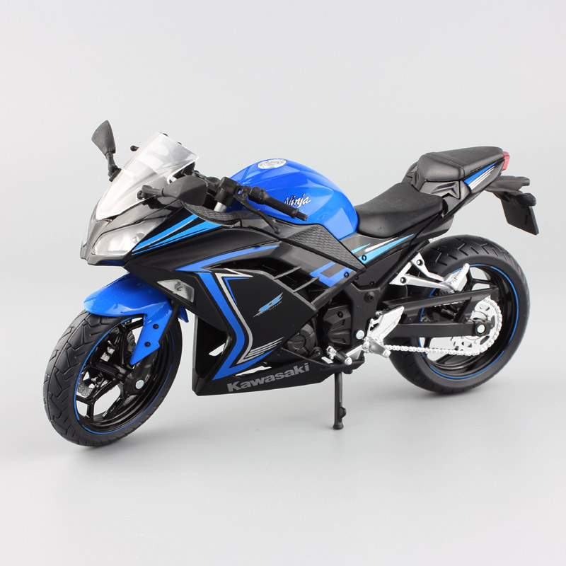 1/12 scale brand mini Kawasaki Ninja 250 R special edition race sport Motorcycle street ride bike car diecast gift model boy toy