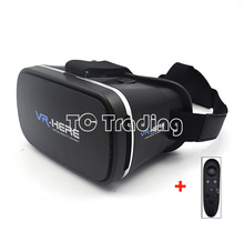 2016 NEW Arrivals: VR HERE Virtual Reality 3D Glasses HD Optical Lens VIP Private Cinema With Bluetooth Controller Free Ship