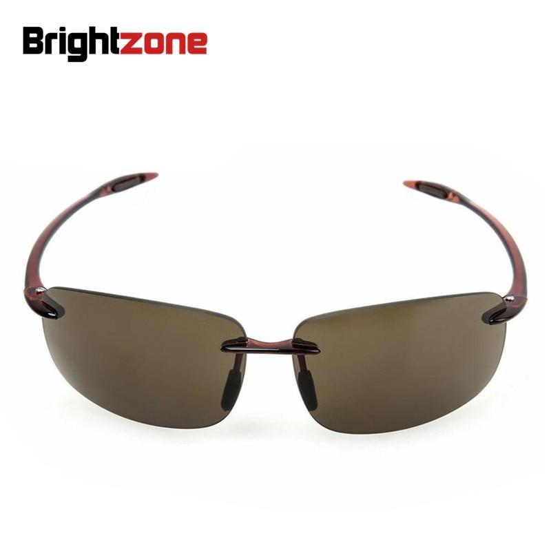 Brightzone թեթև քաշով UV400 բարձր արխիվ TR-90 նեյլոնե ոսպնյակներով տղամարդիկ և կանայք Վարորդ Ձկնորսություն արևային ակնոցներ Հակահայկական ուղղաձիգ աչքի ակնոցներով