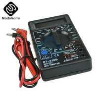DT830B profesional LCD Digital medidor de pruebas multímetro AC DC 750/1000V voltímetro amperímetro Ohm eléctrico Multi de DT-830B