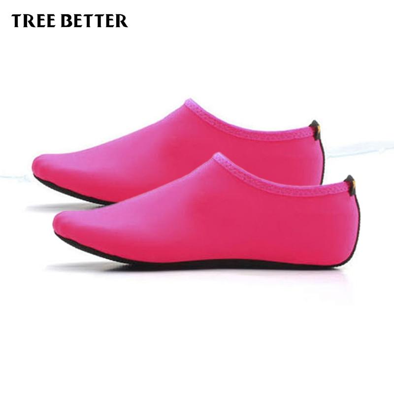 Antypoślizgowe miękkie skarpetki męskie Kobiety Oddychające buty - Sporty wodne - Zdjęcie 3