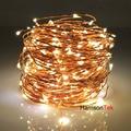 20 M 66ft Estrellado LED hadas Luces de la Secuencia, decoración de Luces de La Cuerda Para Decoración de Temporada de Vacaciones de Navidad, boda, partes