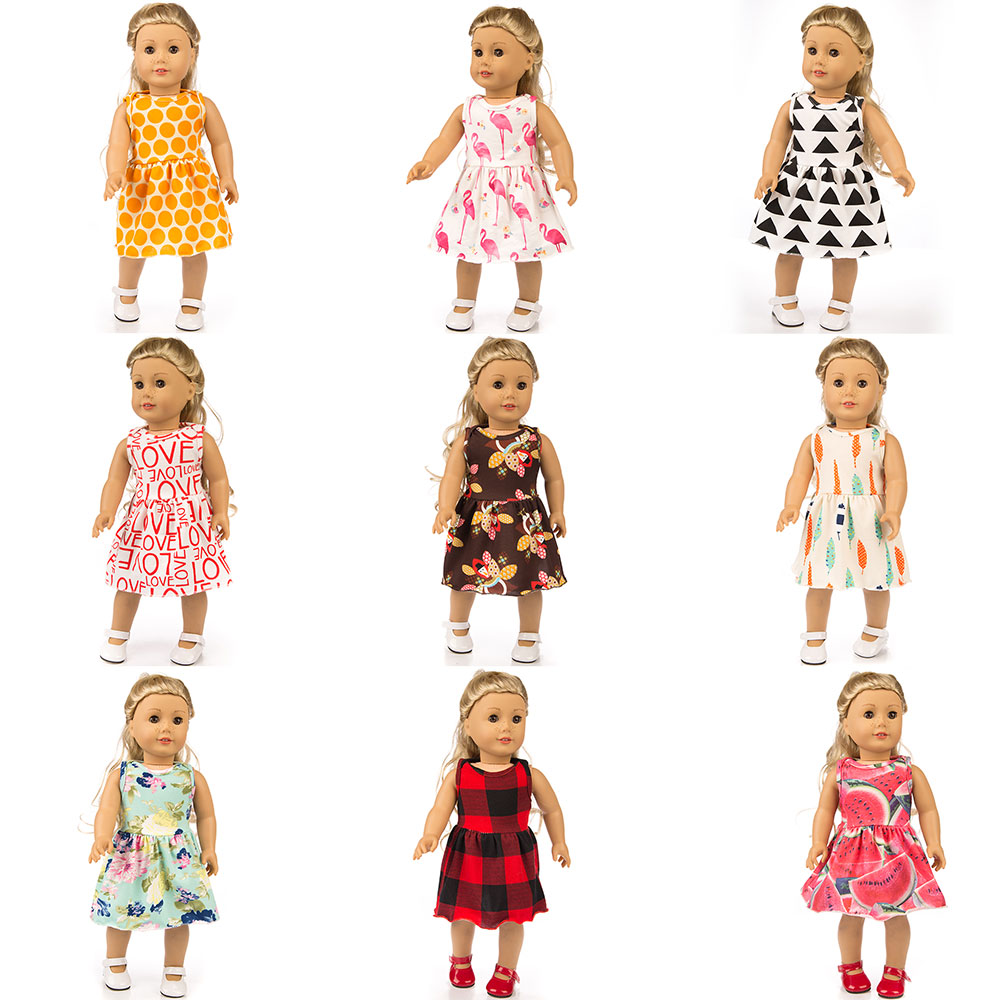New Dress Fit Fit For American Girl Doll 18 Inch Doll Clothes And Accessories
