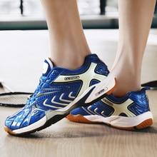 Новинка года; Мужская и женская обувь для бадминтона; светильник; дышащая обувь для профессиональной подготовки; высококачественные нескользящие спортивные кроссовки для мальчиков и девочек