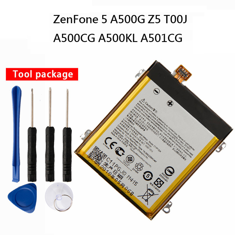 Original High Capacity C11P1324 phone Li-ion Replacement Battery For ASUS ZenFone5 Z5 A500G