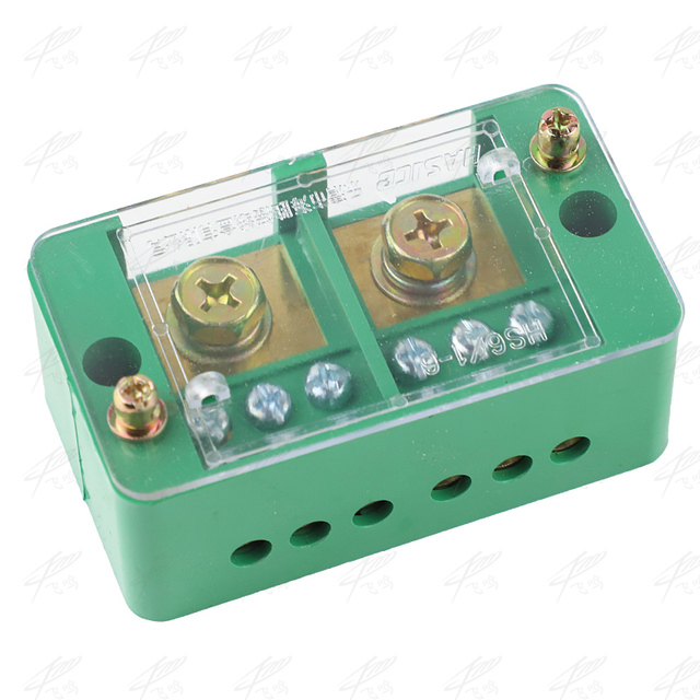 Single Phase 2 IN 6 OUT Wire Terminal Box Household Distribution Box