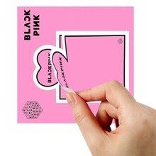 1 шт. k-pop BLACKPINK самоклеющиеся блокноты для заметок креативная липкая закладка для заметок школьные офисные канцелярские принадлежности