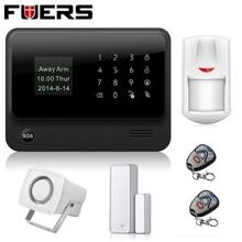 Envíos ruso Nuevo WIFI GSM Sistemas de Alarma de Seguridad 433 MHz Sistema de Alarma de Casa de Seguridad Inalámbrica IOS Android APP Control Remoto