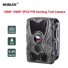 BOBLOV Hunting Camera 16MP Trail Night Version Ip65 Wildlife Surveillance