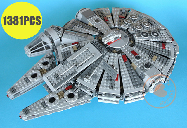 New Force Awakens Millennium Falcon fit legoings star wars figures fighter Building Blocks bricks Model 10467 gift Kids diy ToysNew Force Awakens Millennium Falcon fit legoings star wars figures fighter Building Blocks bricks Model 10467 gift Kids diy Toys