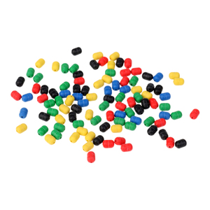 Image 5 - 100Pcs Soft Rubber Buffer Shock FIshing Beads for Helicopter Rigs Protecting Swivels for Bait Fishing Lure