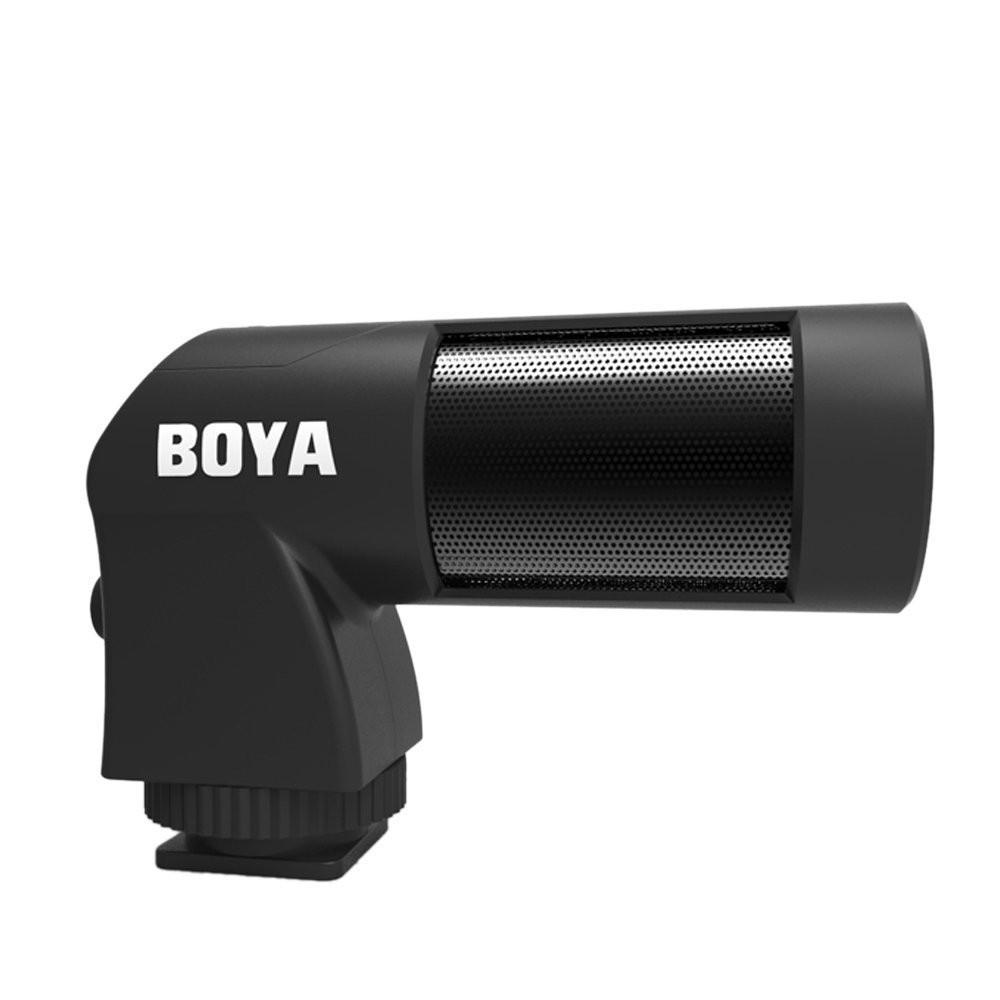 boya by-v01 mini stereo microphone