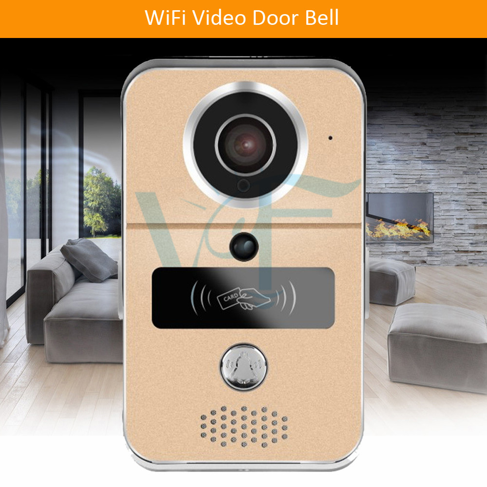 Automatic Door Operators Rain Cover Case Wireless Video Camera Doorphone Audio Intercom Door Opener Dhl Free Shipping Wi-fi Enabled Night Vision Vf-db04 Door Hardware & Locks