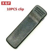 XQF 10pcs Belt Clip For Motorola HT1000 MTS2000 MTX1000 MTX838 MTX868 NTN7144 NTN7143 Two Way Radio