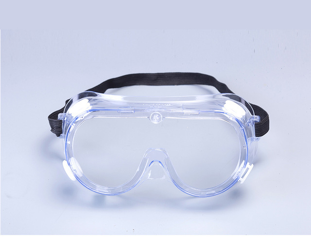 Labour Working Scratch-Resistant Protective Goggles Vented Safety Goggles Eyes Protection Clear Glasses for Industrial Lab Work