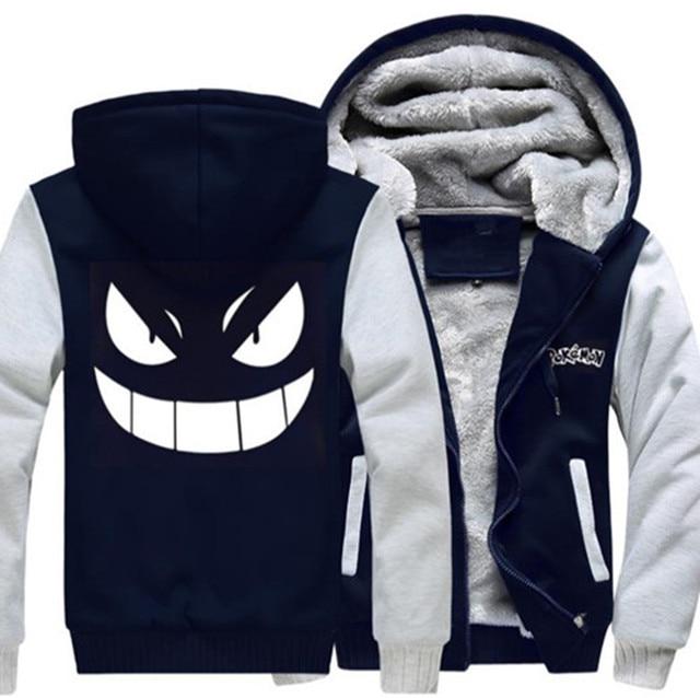 Pokemon go Gengar Pocket Monsters Sweatshirts