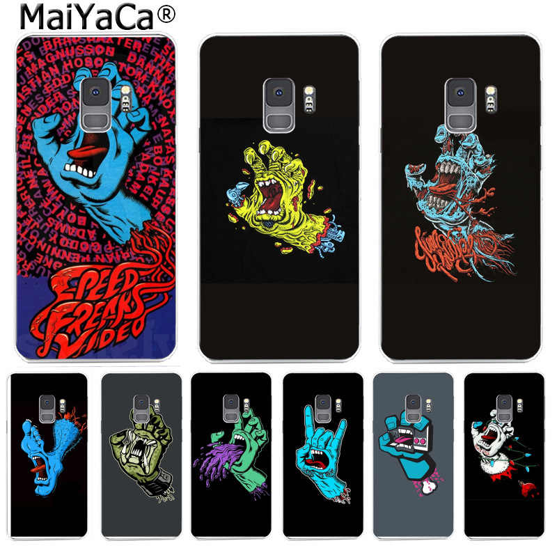 Maiyaca Queen Rock Group Santa Cruz Cool Hand Classic Logo Phone For Samsung S9 S9 Plus S5 S6 S6edge S6plus S7 S7edge S8 S8plus