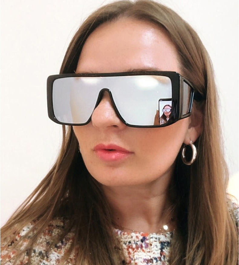 JackJad New Fashion Square Shield Style ATTICUS Sunglasses Women Men Cool Side Lens Brand Design Sun