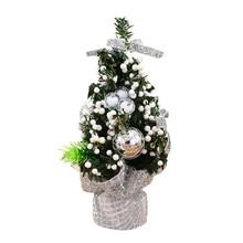 Ozdobne drzewko świąteczne na biurko