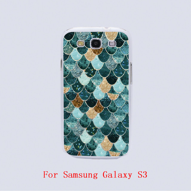 REALLY MERMAID Design hard plastic phone cover cases For Samsung Galaxy S3 9300 /S4 /S5 /S6 /S6 Edge